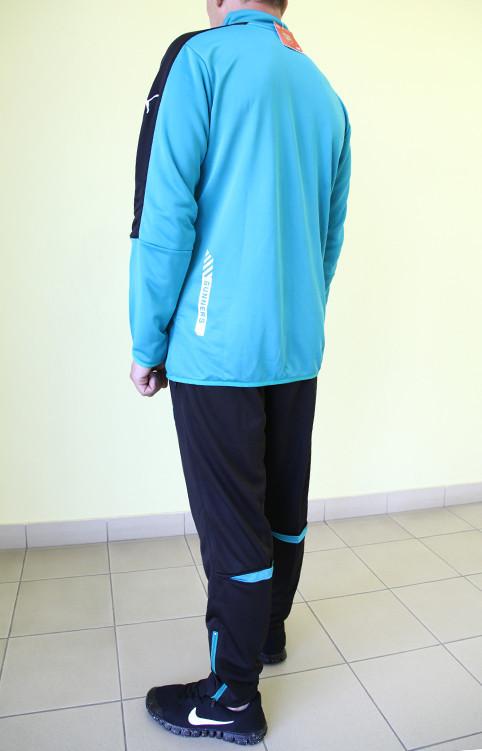 54caab18c239 ... Мужской спортивный костюм Puma 822330-08 ARSENAL бирюза с чёрным код  352б, ...