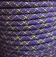Статическая полиамидная веревка 10 мм цветная (шнур) 48 класс