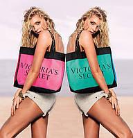 Cумка Victoria's Secret зелёно-синяя