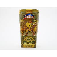 Зелёный чай Battler tea Green Elephant 100гр. Ж/Б, фото 1