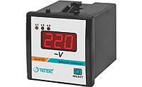 Вольтметр трехфазный электронный TENSE щитовой 72х72 мм цена цифровой переменного тока шкаф