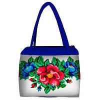 Красивая женская сумка с цветочным принтом