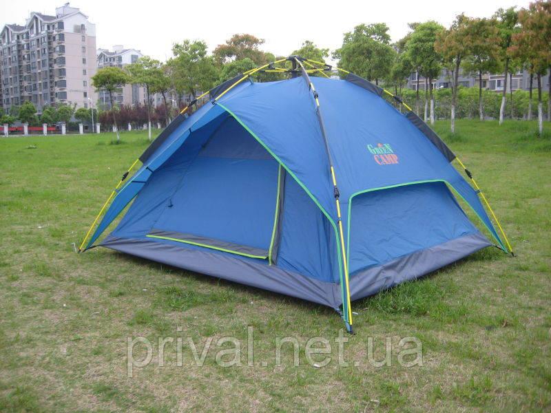 Палатка Green Camp 1831, палатка и тент 2в1