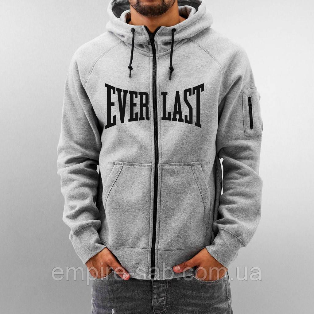 Мужская толстовка Everlast . Серая - Империя стиля и красоты в Запорожье f7262a8929376