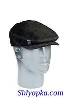 Мужская кепка-реглан из натуральной замши, фото 1