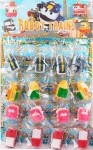 Поезд - игрушка для купания, брызгалка, 4 вида (5-7см), CH8802