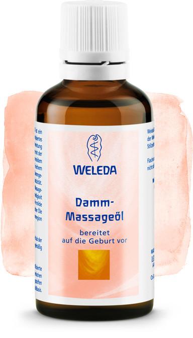 Масло для профилактики разрывов во время родов (50 мл), Weleda