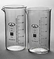 Стакан химический высокий с метками 250 мл.