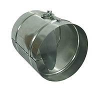 Дроссель-клапан (шибер) н/ж для дымохода