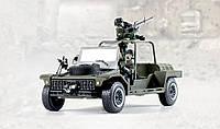 Военный набор автомобиль для быстрой атаки с  2мя фигурками