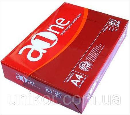 Бумага А4, 80 г/м2, 500 листов. A-One