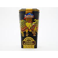 Чёрный чай Battler tea Golden Elephant 100гр. Ж/Б