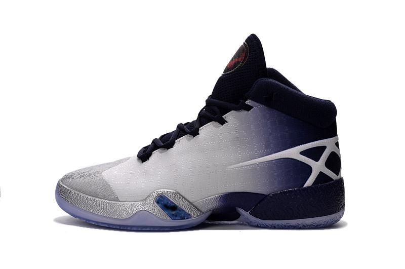 5822607a Баскетбольные кроссовки Nike Air Jordan 30 white-black-grey - Интернет  магазин обуви Shoes