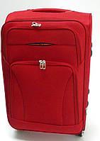 Чемодан дорожный красный большой 4 колесный Размер 69х45х30 см