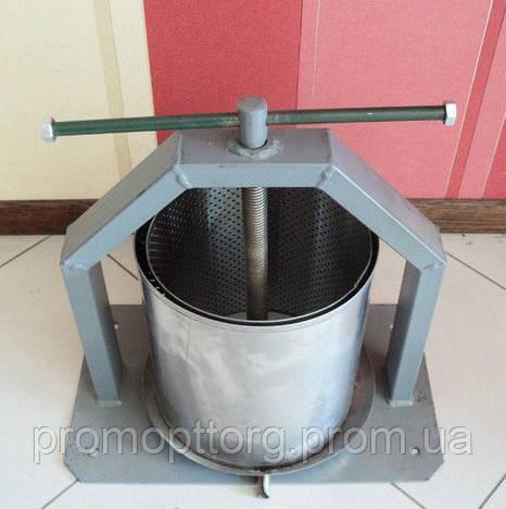 Пресс для сока 15 литров нержавеющая сталь, г. Винница
