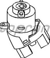 Контактная группа замка зажигания VW GOLF 89-02,PASSAT -97,POLO 91-03,TRANSPORTER T4 91-03 357905865