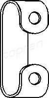 Хомут скоба выхлопной трубы VW 191253111