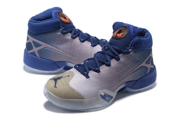 78e07a75 Баскетбольные кроссовки Nike Air Jordan 30 grey-blue - Интернет магазин  обуви Shoes-Mania
