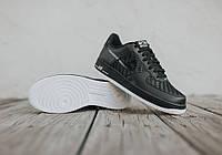 Мужские кроссовки Nike Air Force 1 Low Black-Summit White, фото 1