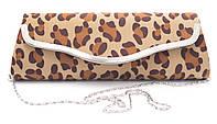 Овальный клатч с  принтом в виде леопарда и низкой ценой ROSE HEART art. 62353