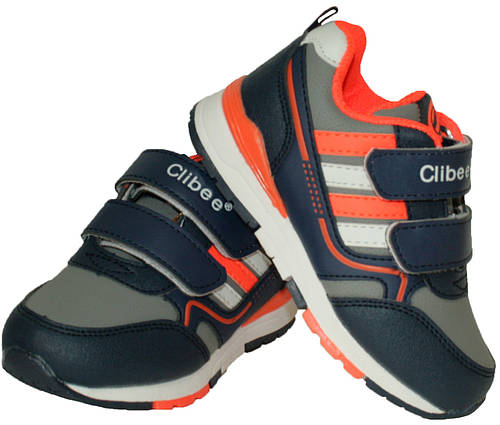 Детские кроссовки для мальчика Clibee Польша размеры 25-30