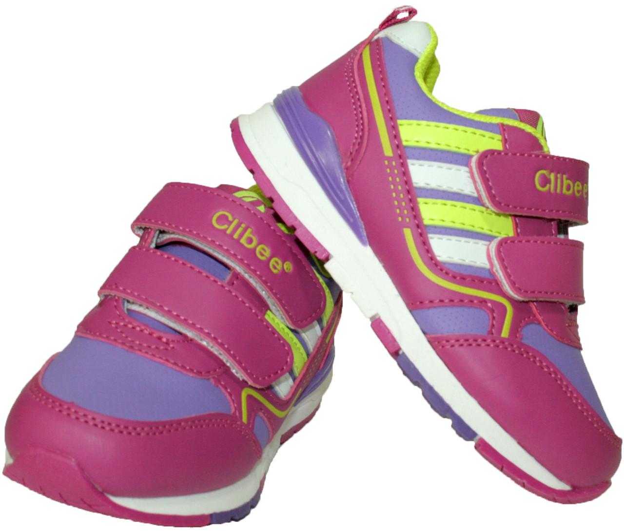 Дитячі кросівки для дівчинки Clibee Польща розміри 25-30