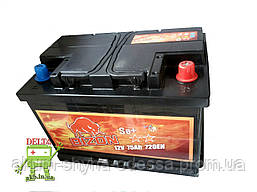 Аккумулятор Bizon 75A 720A (EN) R+