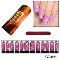 """Дизайн ногтей """"Цветы с лепестками"""""""