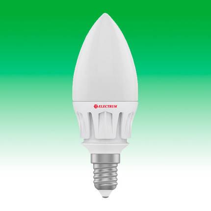 Светодиодная лампа LED 6W 2700K E14 ELECTRUM LC-16 (A-LC-0085), фото 2