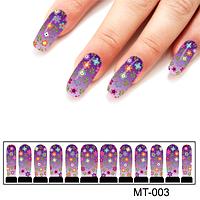Фотодизайн для ногтей цветочный карнавал