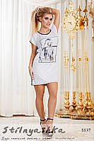 Женская туника-платье Девушка