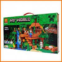 """Конструктор Bela """"Minecraft"""" 10471 Домик на дереве в джунглях"""