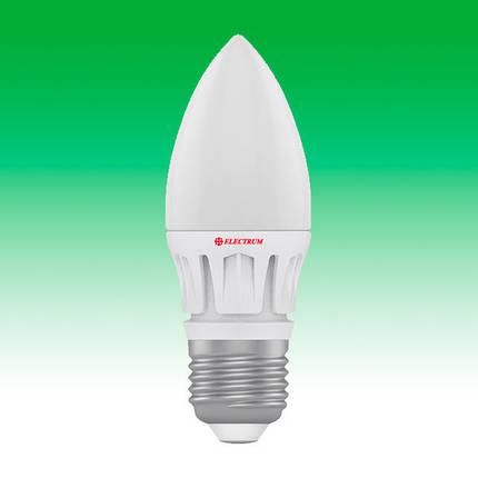 Светодиодная лампа LED 6W 4000K E27 ELECTRUM LC-16 (A-LC-0397), фото 2