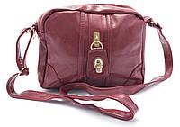 Оригинальная компактная женская сумочка Б/Н art. 601 красного цвета