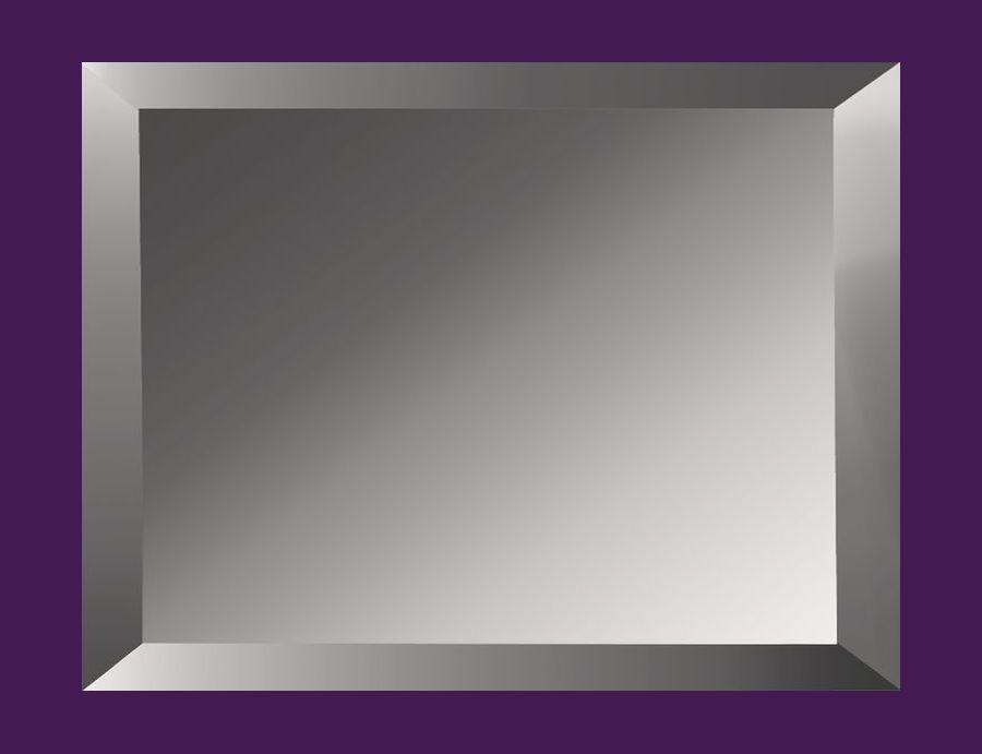 Плитка зеркальная с фацетом 25 мм ПФГ 200*250 (графит) Украина UMT