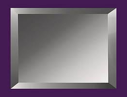 Дзеркальна Плитка з фацетом 15мм ПФГ 200*300 (графіт) Україна UMT