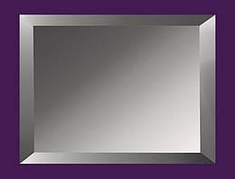 Плитка зеркальная с фацетом 15мм ПФГ 200*300 (графит) Украина UMT