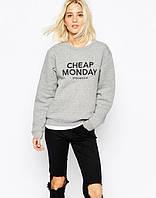 Женский свитшот Cheap Monday кофта женская