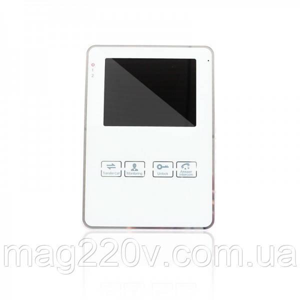 Комплект видеодомофона GV-051-J-VD4SD white