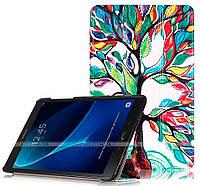 Чехол Slimline Print для Samsung Galaxy Tab A 10.1 2016 SM-T580, SM-T585 Life Tree