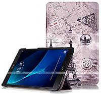 Чехол Slimline Print для Samsung Galaxy Tab A 10.1 2016 SM-T580, SM-T585 Paris