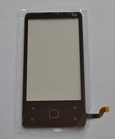 Оригинальный тачскрин / сенсор (сенсорное стекло) для Fly E146 (черный цвет)