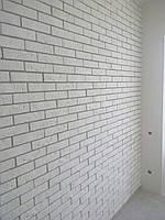 "Декоративный кирпич ""Манхэттен"" цвет белый"