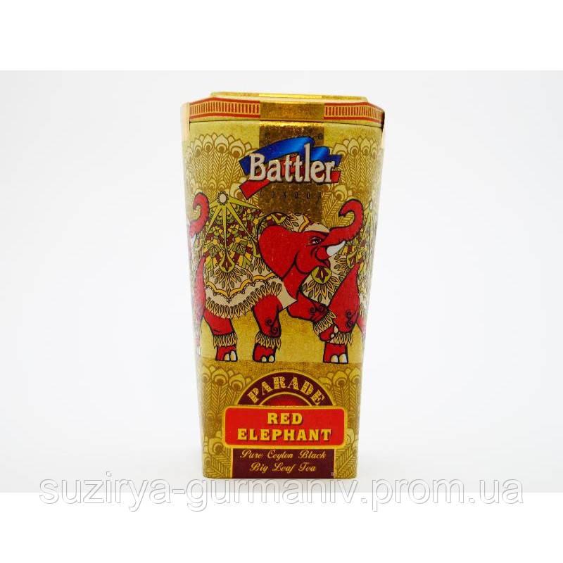 Чай чёрный Battler tea RED ELEPHANT 100гр. Ж/Б, фото 1