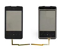 Оригинальный тачскрин / сенсор (сенсорное стекло) для Fly E115 (черный цвет)