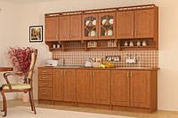 Кухня Корона 2м со столешницей    Мебель-Сервис