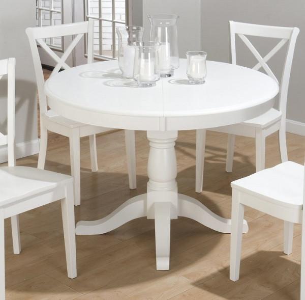 Белый стол кухонный
