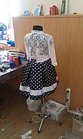 Детское платье в горох на рост от 90см до 122см, фото 4