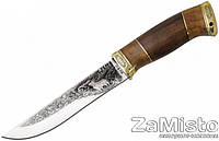 Нож охотничий Grand Way ОЛЕНЬ (с рисунком)