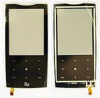 Оригинальный тачскрин / сенсор (сенсорное стекло) для Fly E310 Attitude (черный цвет)